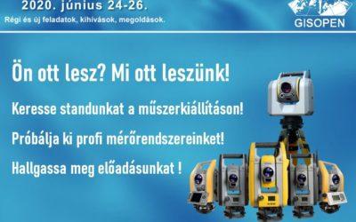 GIS Open 2020: új időponttal!