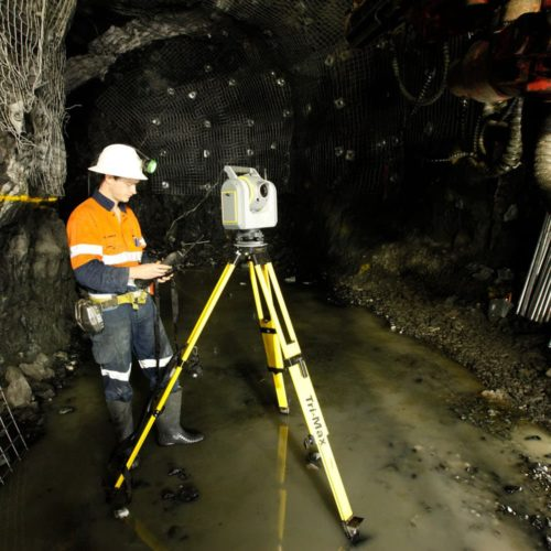 Trimble SX12 TSC7 Application Mining