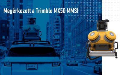 Megérkezett a Trimble MX50